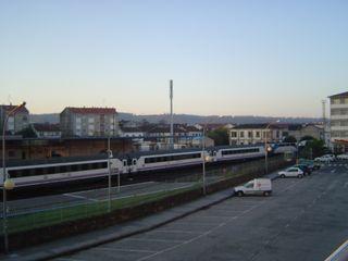 Train qui nous raméne jusqu'à Hendaye