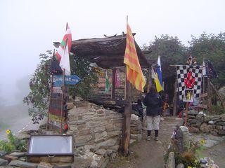 Refugio de Las templarios à Manjarin