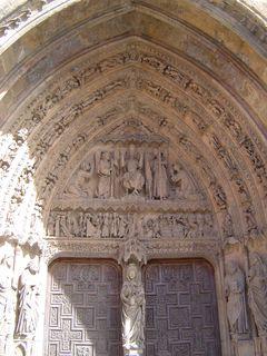 Porte de la cathédrale de Léon